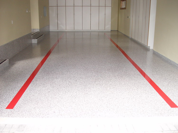 Epoxy Floors Are Great For Residential Applications And Most Common In Transforming A Regular Garage Into Showroom Ultimate